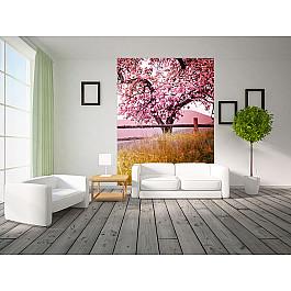 Фотообои Фотообои Цветущее дерево, 368*254 см фотообои decoretto старый мост 180 х 254 см