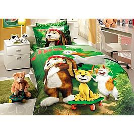 цена Постельное белье Hobby Home Collection КПБ Детский Ранфорс Hobby дизайн 07 (1.5 спальный) онлайн в 2017 году