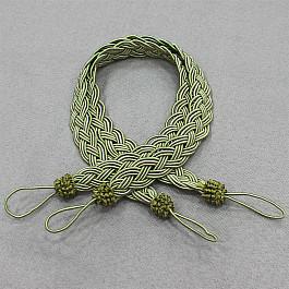 Подхваты для штор Ajur Подхваты HK PDT1-1270, зеленый кисти подхваты крючки держатели rayleigh