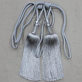 Фото - Кисти для штор Ajur Кисти Ajur HK MB917AY-13263, серый, 60 см кисти для штор ajur 60 см 2 шт молочный