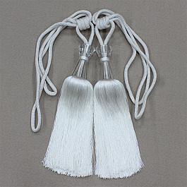 Фото - Кисти для штор Ajur Кисти Ajur HK MB917AY-1015, серый, 60 см кисти для штор ajur 60 см 2 шт молочный
