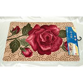 Коврик для ванной Алая роза, 60*90 см