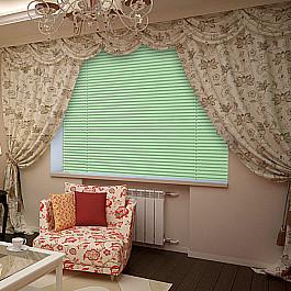 Фото - Жалюзи Жалюзи алюминиевые Стандарт, светло-зеленый, 170 см блузка женская oodji collection цвет светло зеленый белый 21412132 2b 24681 6010g размер 44 170 50 170