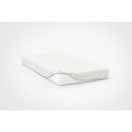 Простыни Amore Mio Простынь трикотажная на резинке Mio, белый, 120*200 см