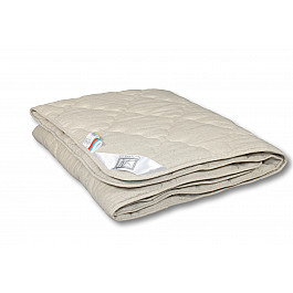 Одеяло Alvitek Одеяло Лен, всесезонное, бежевый, 140*205 см одеяло шелковое natures королевский шелк всесезонное 155х215 см