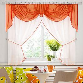 шторы Шторы для кухни Нивасан Шторы Юлия-4, оранж