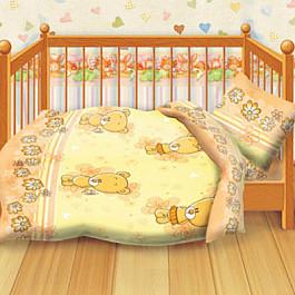 Постельное белье Кошки-Мышки КПБ детский бязь 'Кошки-мышки' КДКм-1 рис.8350-2 Мишутки наволочка для подушки кошки мышки