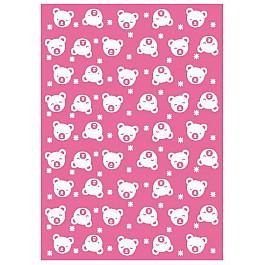 """Одеяло детское """"Малятко"""", бело-розовое, 100*140 см"""