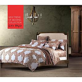 цена Постельное белье Tango КПБ Сатин дизайн 672 (1.5 спальный) онлайн в 2017 году