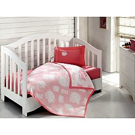 где купить Покрывало Virginia Secret Покрывало+КПБ Hello Kitty Bebe, розовый, 100*120 см по лучшей цене