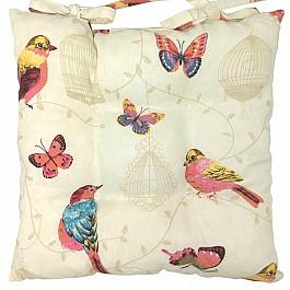 Подушка для сидения Altali на стул Sabina, малиновый, 41*41 см