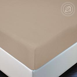 Простыни Арт-постель Простынь трикотажная на резинке Какао, 180*200 простыни арт постель простынь трикотажная на резинке незабудка 180 200