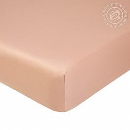 Простыни Арт-постель Простынь сатин на резинке, бежевый, 160*200 см простыня на резинке альвитек 160 200 см бежевый сатин