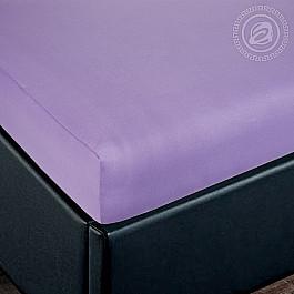 Простыни Арт-постель Простынь трикотажная на резинке Сирень, 140*200 см цена