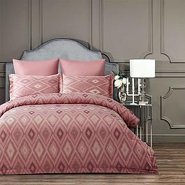 Постельное белье Arya КПБ Arya Majestik бамбук Barton (1.5 спальный), розовый mary barton