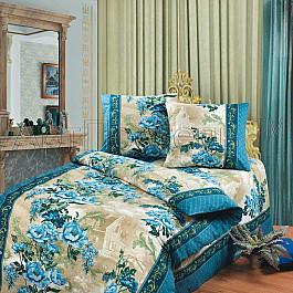 Постельное белье Арт-постель КПБ из бязи арт. 100 Гобелен синий (1.5 спальный) арт постель одиссей