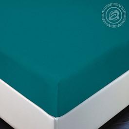 Простыни Арт-постель Простынь трикотажная на резинке Бирюза, 180*200 простыни арт постель простынь трикотажная на резинке незабудка 180 200