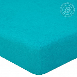 Простыни Арт-постель Простынь махровая на резинке Незабудка, 180*200 см простыни арт постель простынь трикотажная на резинке незабудка 180 200