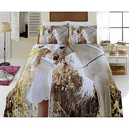 где купить Постельное белье Virginia Secret КПБ Бамбук VS 3D Digital дизайн 54 (Евро) по лучшей цене