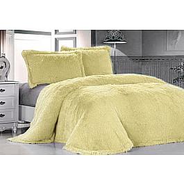 Покрывало Tango Покрывало меховое Лама светло-желтая, 160*220 см еж стайл линейка color animals желтая утка 18 5 см