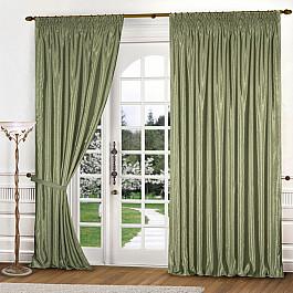 Шторы для комнаты Blackout Комплект штор К301-4, оливковый, 250*240 см fit 68630