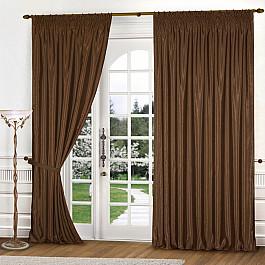 Шторы для комнаты Blackout Комплект штор К301-2, коричневый, 250*250 см fzr250rr 250