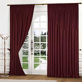 Шторы для комнаты Blackout Комплект штор К301-9, бордо, 250*250 см 250 cnc