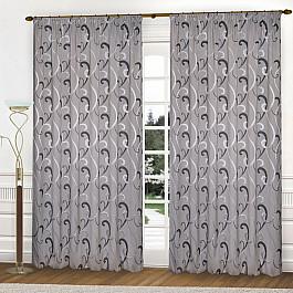 Шторы для комнаты Blackout Комплект штор К331-5, серый, 250*250 см 250 cnc