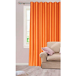 Шторы для комнаты DrDeco Шторы Атласная, оранж, дизайн 75047 adamex champion alu 7m графит оранж