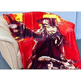 Плед Tango Плед Микрофибер №02, красный, сиреневый, 150*200 см цена