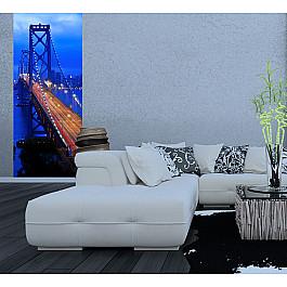 Фотообои Фотообои Ночной мост, 92*220 см фотообои decoretto старый мост 180 х 254 см