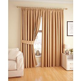 Шторы для комнаты DDA Портьеры №J500-02 Светло-коричневый bork j500