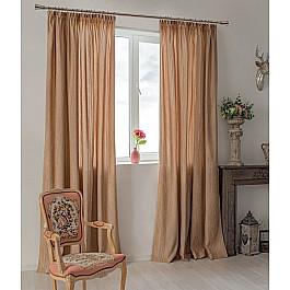 Шторы для комнаты Delfa Комплект штор Hohmann 6255-59, коричневый, 270 см