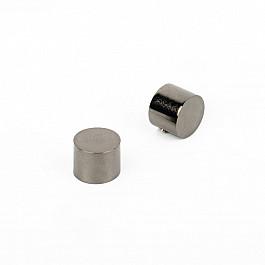 Заглушки Delfa Комплект заглушек Кап, черный никель, диаметр 19 мм пустырника настойка 25мл фл кап