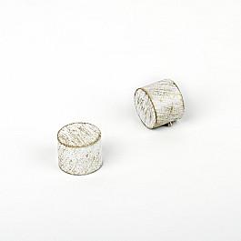 Заглушки Delfa Комплект заглушек Кап, белое золото, диаметр 19 мм пустырника настойка 25мл фл кап