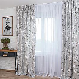 Шторы для комнаты Дельфа Комплект штор Izumi-70, серый (gris), 160*250 см телевизор izumi 15