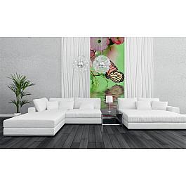 Фотопанно Divino DelDecor Фотопанно холст Бабочки, 100*270 см decoretto art холст строчки и бабочки