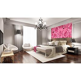 Фотопанно Divino DelDecor Фотопанно холст Розы розовые фон, 300*270 см холст 20х30 printio розовые розы
