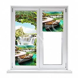 Шторы рулонные Divino DelDecor Рулонная штора лен Волшебный мир, 48 см волшебный мир картины cdpc