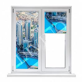 цена на Шторы рулонные Divino DelDecor Рулонная штора термоблэкаут Дубай, 57 см