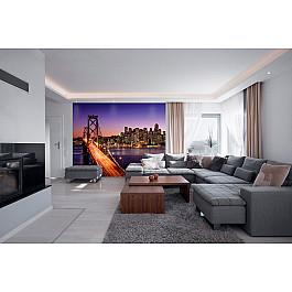 Фотопанно Divino DelDecor Фотопанно холст Мост Сан-Франциско, 300*238 см бальчев а пассажир из сан франциско