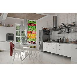 Фотопанно Divino DelDecor Фотопанно холст Фрукты и овощи, 100*270 см смирнова екатерина васильевна овощи фрукты