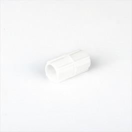 лучшая цена Соединители ШтораНаДом Соединитель трубы для карниза, белый
