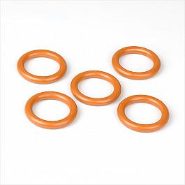 цена на Кольца ШтораНаДом Комплект колец из пластмассы для металлического карниза, вишня, диаметр 28 мм