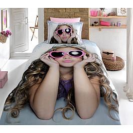 где купить Постельное белье Virginia Secret КПБ Бамбук VS 3D Digital дизайн 15 (1.5 спальный) по лучшей цене