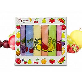 Полотенца Beyza Набор кухонных вафельных полотенец Beyza 04, 50*70 см - 6 шт набор лицевых полотенец butterfly цвет оттенки розового 30 х 50 см 6 шт