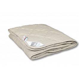 Одеяло Alvitek Одеяло Лен, всесезонное, бежевый, 200*220 см одеяло шелковое natures королевский шелк всесезонное 155х215 см