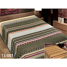 Фото - Покрывало Марианна Покрывало Elegant (пэчворк) №15-001, зеленый, коричневый, 150*220 см ёлка цвет зеленый 150 см