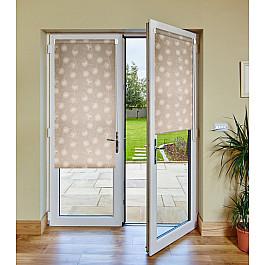 Шторы рулонные Эскар Рулонная штора для балконной двери Одуванчик бежевый, 52 см одуванчик п 205мг 100 таблетки