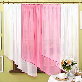 шторы Шторы для кухни Нивасан Шторы Одиссея-3, розовый